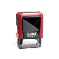 Privat Trodat Printy Rot 4911 Büro Stempel Kissen Grün Papier, Büro- & Schreibwaren