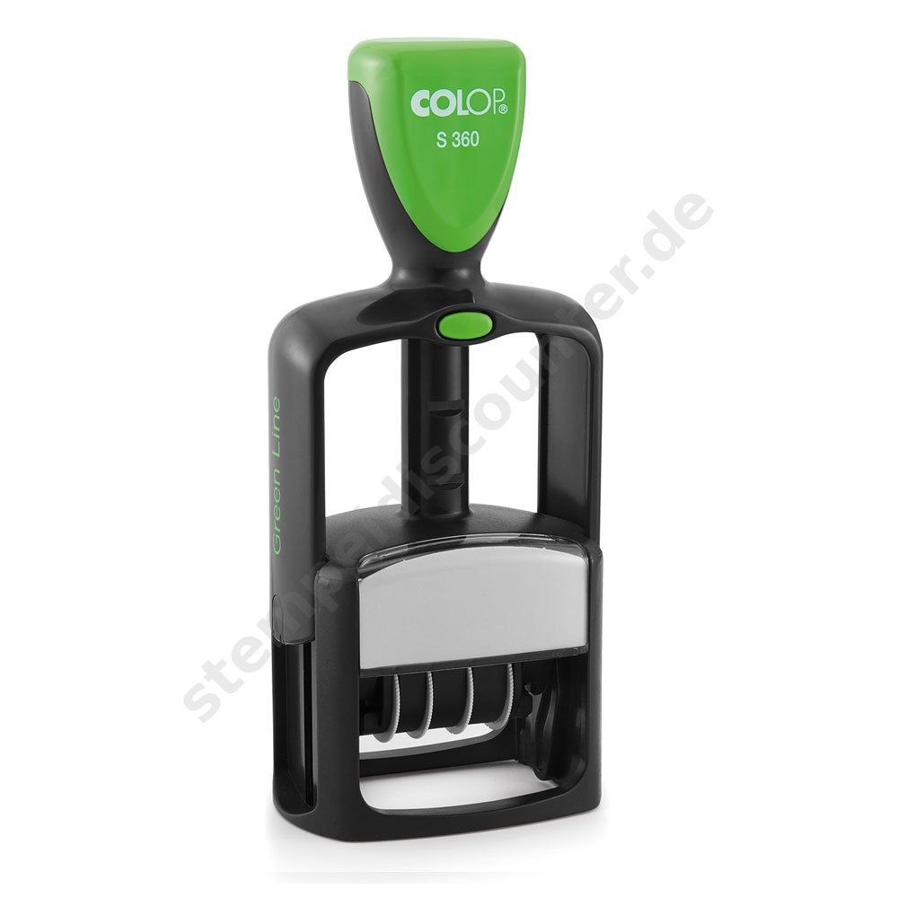 Colop S360 Dater Green Line